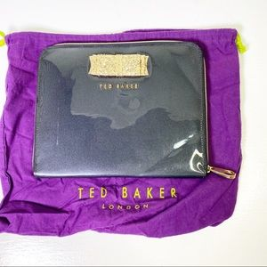Ted Baker Bow Patent Leather iPad Tablet Case